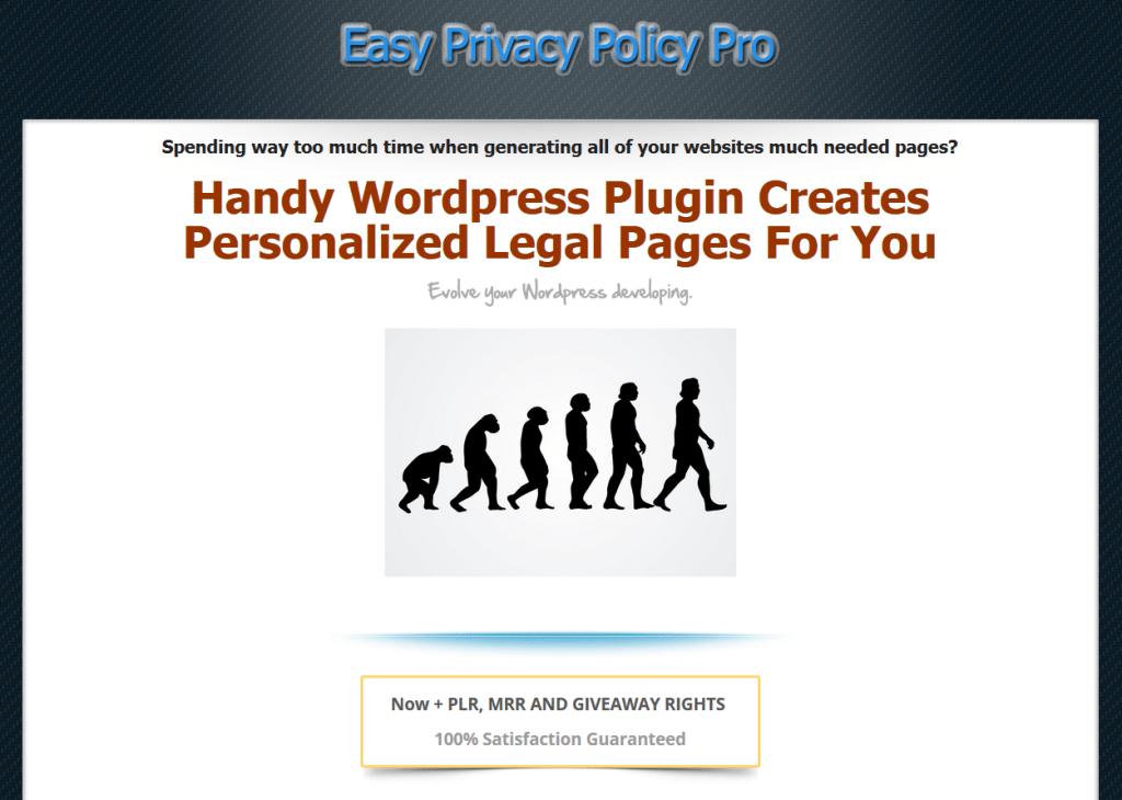 easy privacy policy pro screenshot