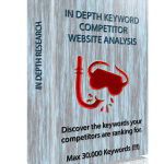 Competitor Website Keyword Reseach Fiverr Gig