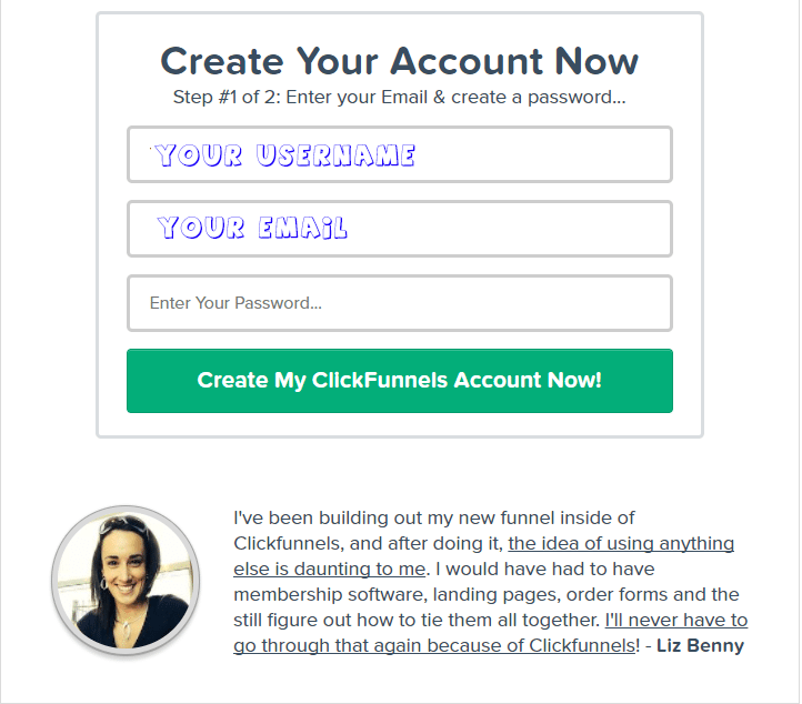 clickfunnels account