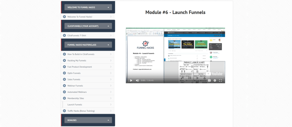funnelhacks launch funnels