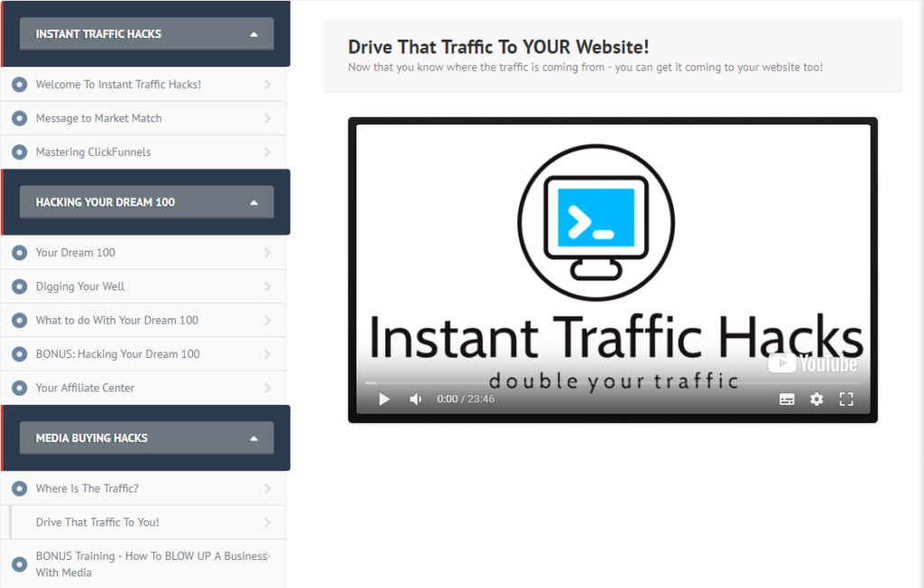 Funnelhacks Review Drive That Traffic To you