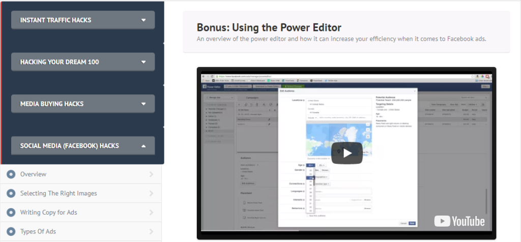 funnelhacks review power editor bonus