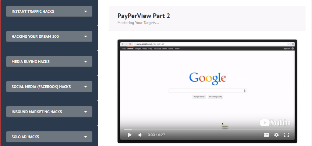 Instant Traffic Hacks PayPerView2