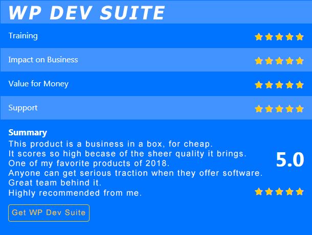 wp dev suite bonus