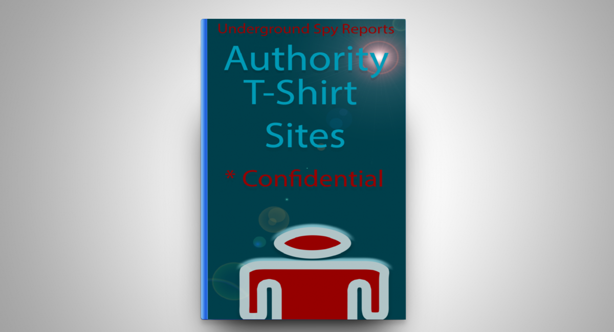 Authority T-Shirt Sites